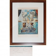 Madonna of Port Ligat - Signed Salvador Dali