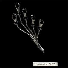 Jensen Danish Silver Plate Calla Lily Candleholder