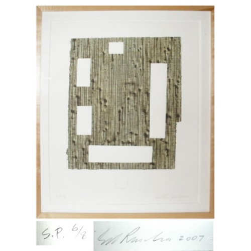 Ed Ruscha - A Columbian Necklace Lithograph