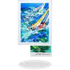 High Seas Sailing II by Leroy Neiman