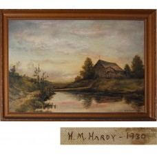 Original H. M. Hardy Painting - Signed
