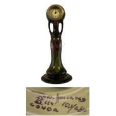 Art Nouveau Zuid-Holland Gouda Clock