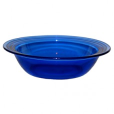 Moderntone Depression Cobalt Large Berry Bowl
