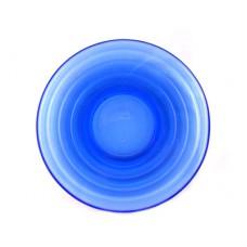 Moderntone Depression Cobalt Saucer