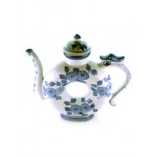 Circle Decorative China Teapot