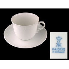 Kaiser Cup and Saucer Set - West Germany