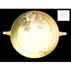 Nippon Azalea  Hand Painted Handled Bowl