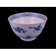 Blue and White Export Porcelain Tea Bowl