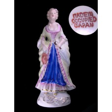Occupied Japan Colonial Woman Figurine Statue
