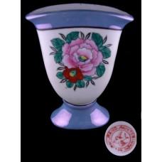 Luster Vase with Floral Motif Vase - Made In Japan
