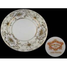 Vintage Coronet Adline Handpainted Salad Plate