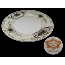 Coronet Adline Handpainted Bread and Butter Plate