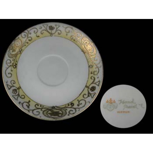 Nippon China No. 16034 Handpainted Saucer