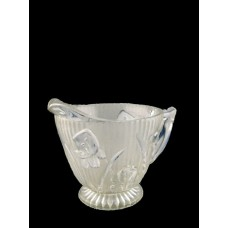 Jeannette Iris and Herringbone Clear Creamer