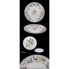Antique Nippon Mystery #40 Hand Painted Dinner Plate