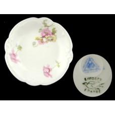 Limoges Floral Antique Butter Pat
