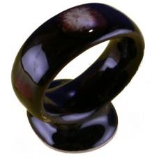 Pfaltzgraff Gourmet Brown Drip Napkin Ring