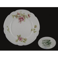 Limoges Floral Antique Individual Bread Plate
