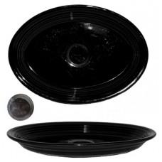 Fiesta Black Oval Serving Platter - USA