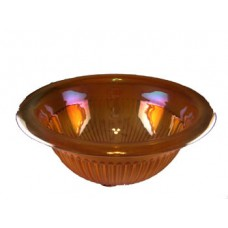 Federal Glass Co. Iridized Depression Mixing Bowl