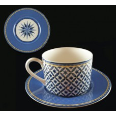 Victoria & Beale Williamsburg Flat Cup and Saucer
