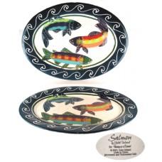 Julie Ueland Oval Salmon Platter
