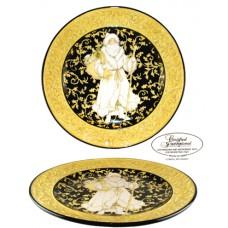 Certified Int. Victorian Santa Serving Platter