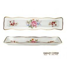 Oakley Bone China Floral Mint Tray