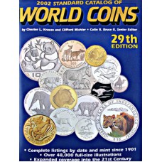 2002 Standard Catalog of World Coins 29th Edition