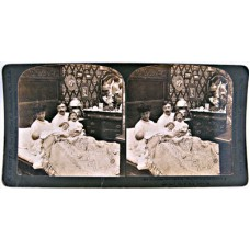 Stereograph-5575-They still sit up late