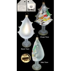 Limited Edition Laved Frosted Tree Made in Italy