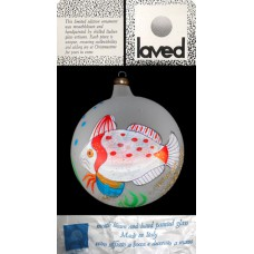 Laved Limited Edition Frosted Fish Globe - Italy