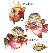 Katherine's Collection Kissing Fish Ornament