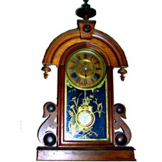 Ansonia Walnut Shelf Clock