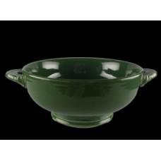 Fiesta Dark Green Cream Soup Bowl