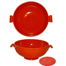 Fiesta Red Casserole without Lid