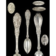 Sterling Paris Gorham Fruit/Orange Spoon