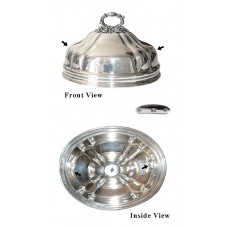 Antique English Silver Plated Meat/Food Dome