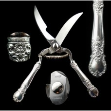 Pewter Web Poultry Shears