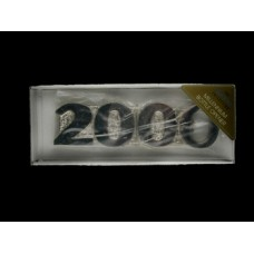 2000 Millennium Countdown Bottle Opener