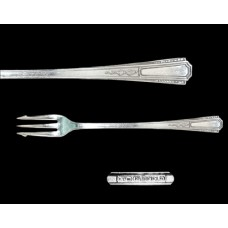 Silver Plate Three Fairfield Oyster Fork