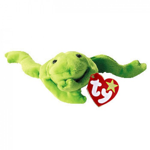 Legs the Green Frog Beanie Baby 6423d685320