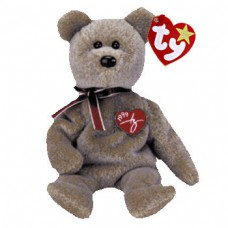 1999 Ty Signature Tan Bear Beanie Baby