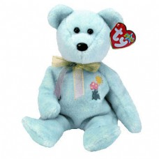Ariel The Mint Green Bear With Flowers Beanie