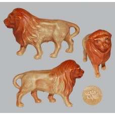 Vintage Celluloid Toy Lion -