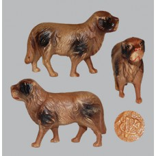 Vintage Celluloid Toy Brown Dog  -