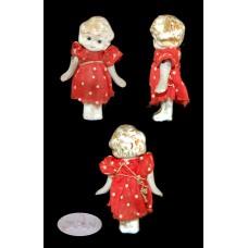 Miniature Bisque Kewpie Flapper Doll - Japan