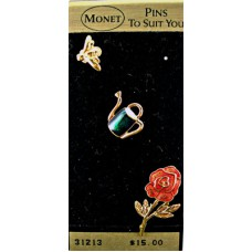 Monet - Pins to Suit You - Flower