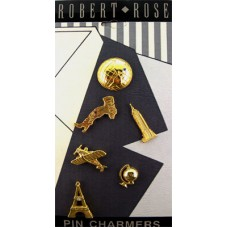Robert Rose Pin Charmers - Around the World Theme