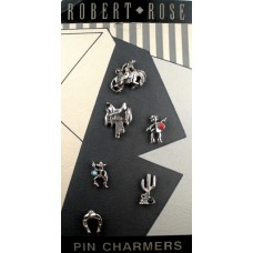Robert Rose Pin Charmers - Western Theme
